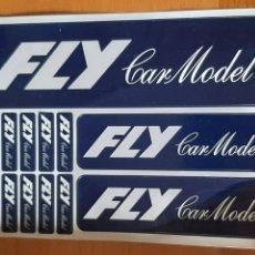 Slot Cars: PEGATINAS FLY CARS MODEL ORIGINALES SIN ESTRENAR. Lote 254681540