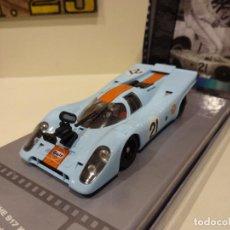 Slot Cars: FLY. PORSCHE 917K. MAKING OF LE MANS. VIC ELFORD. REF. 99128. Lote 256091375