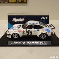 Slot Cars: FLY SLOT. PORSCHE 934. 24H LE MANS 1977. JUAN FERNÁNDEZ. REF. 044102. Lote 257567410
