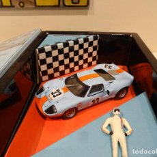 Slot Cars: FLY. FORD GT 40. 1000 KM SPA 1968. BRIAN REDMAN. REF. W-07. Lote 260449930