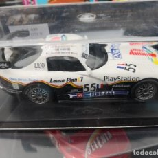 Slot Cars: CHRYSLER VIPER GTS R FLY LE MANS 1999 PLAY STATION NUEVO CAJA REF A 85. Lote 260531455