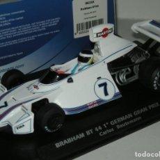 Slot Cars: F1 BRABHAM BT44 MARTINI REUTEMANN FLYSLOT/SCALEXTRIC NUEVO EN CAJA. Lote 261106420