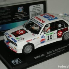 Slot Cars: BMW M3 E30 PEPSI PONCE FLY/SCALEXTRIC NUEVO EN CAJA. Lote 261106980