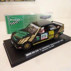 Slot Cars: FLY SLOT. BMW M3 E30. RALLYE CANARIAS 2008. I.ARMAS - F. FLEITAS. REF. F10302. Lote 261283960