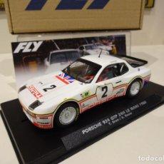 Slot Cars: FLY. NOVEDAD! PORSCHE 924 GTP. 24H LE MANS 1980. DRON - HOUSE. REF. E2025. Lote 261614325
