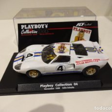 Slot Cars: FLY. FORD GT-40. ED.ESP. PLAY BOY Nº4. REF. 99047. Lote 262132690