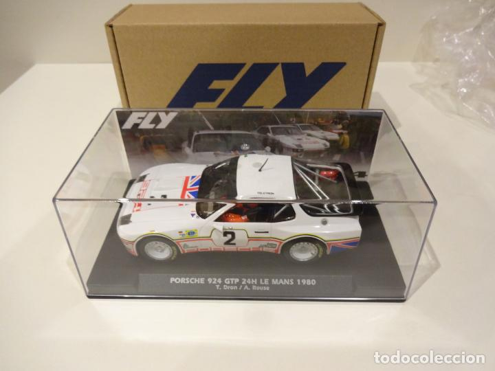 Slot Cars: FLY. NOVEDAD! Porsche 924 GTP. 24H Le Mans 1980. Dron - House. Ref. E2025 - Foto 2 - 262292550