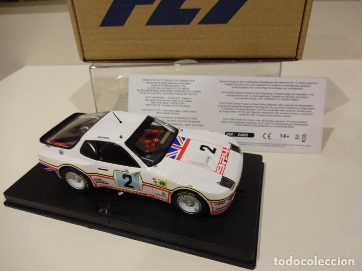Slot Cars: FLY. NOVEDAD! Porsche 924 GTP. 24H Le Mans 1980. Dron - House. Ref. E2025 - Foto 3 - 262292550