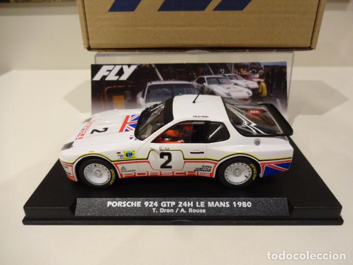 Slot Cars: FLY. NOVEDAD! Porsche 924 GTP. 24H Le Mans 1980. Dron - House. Ref. E2025 - Foto 4 - 262292550