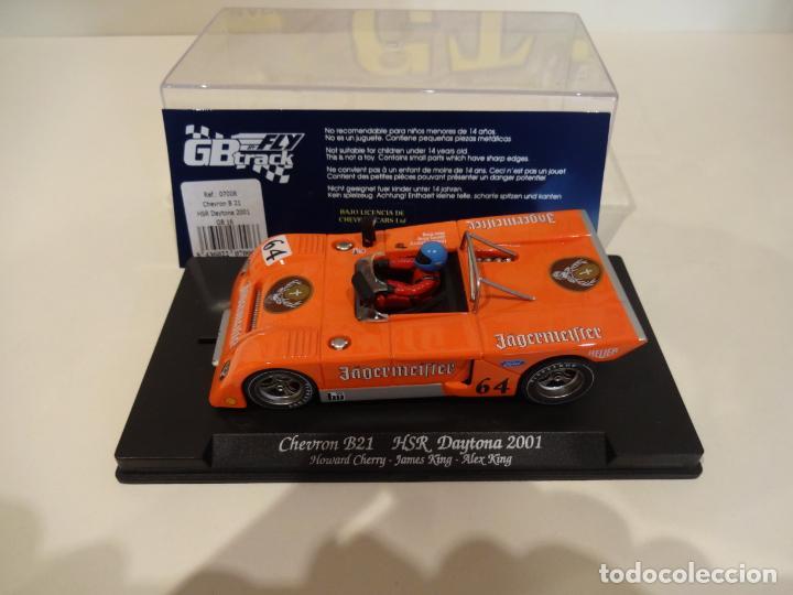 Slot Cars: FLY. Chevron B21. Jagermeifter. HSR Daytona 2001. Ref. GB-16 - 07006 - Foto 2 - 262447335