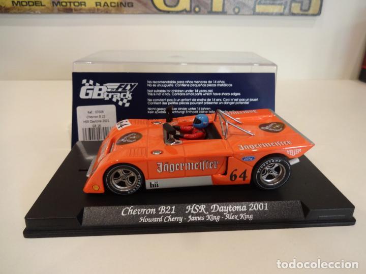 Slot Cars: FLY. Chevron B21. Jagermeifter. HSR Daytona 2001. Ref. GB-16 - 07006 - Foto 3 - 262447335