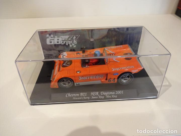 Slot Cars: FLY. Chevron B21. Jagermeifter. HSR Daytona 2001. Ref. GB-16 - 07006 - Foto 4 - 262447335