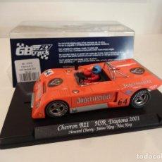 Slot Cars: FLY. CHEVRON B21. JAGERMEIFTER. HSR DAYTONA 2001. REF. GB-16 - 07006. Lote 262447335