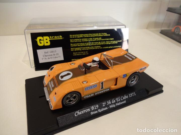 Slot Cars: FLY. Chevron B19. 2º 3h de El Cabo 1971. Redman - Hailwood. Ref. GB-13 - Foto 2 - 262447845