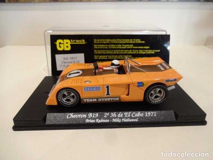 Slot Cars: FLY. Chevron B19. 2º 3h de El Cabo 1971. Redman - Hailwood. Ref. GB-13 - Foto 3 - 262447845