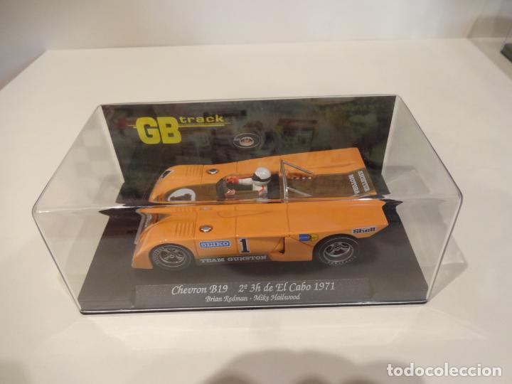 Slot Cars: FLY. Chevron B19. 2º 3h de El Cabo 1971. Redman - Hailwood. Ref. GB-13 - Foto 4 - 262447845