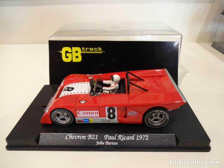 Slot Cars: FLY. Chevron B21. Paul Ricard 1972. Burton. Ref. GB-23 - Foto 2 - 262448535