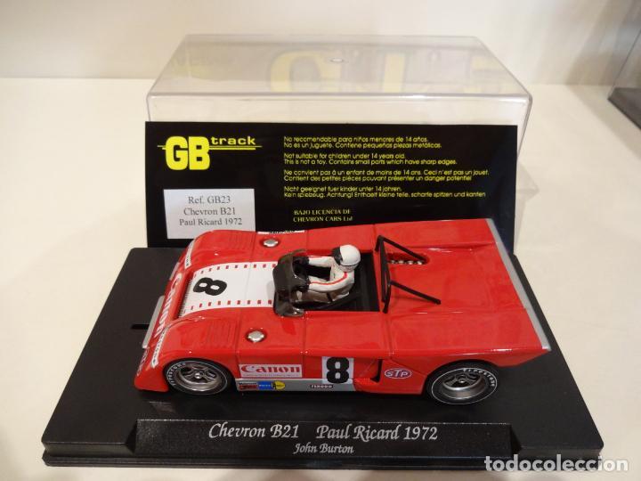 Slot Cars: FLY. Chevron B21. Paul Ricard 1972. Burton. Ref. GB-23 - Foto 4 - 262448535