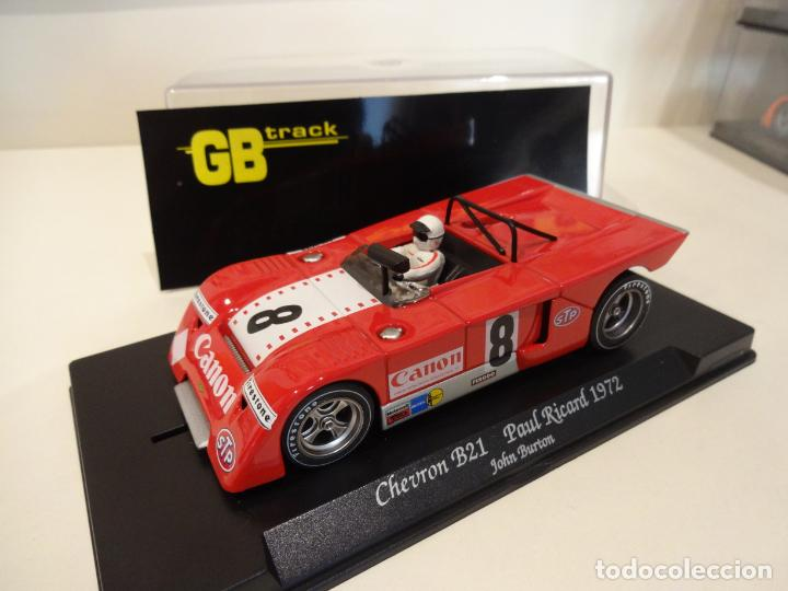 FLY. CHEVRON B21. PAUL RICARD 1972. BURTON. REF. GB-23 (Juguetes - Slot Cars - Fly)