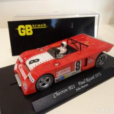 Slot Cars: FLY. CHEVRON B21. PAUL RICARD 1972. BURTON. REF. GB-23. Lote 262448535