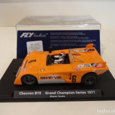 Slot Cars: FLY. CHEVRON B19. GRAND CHAMPION SERIES 1971. TANAKA. REF. GB-25 - 88189. Lote 262455555