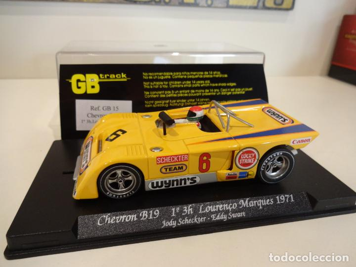 Slot Cars: FLY. Chevron B19. 1º 3H Lourenço Marques 1971. Scheckter - Swart. Ref. GB-15 - Foto 2 - 262455985