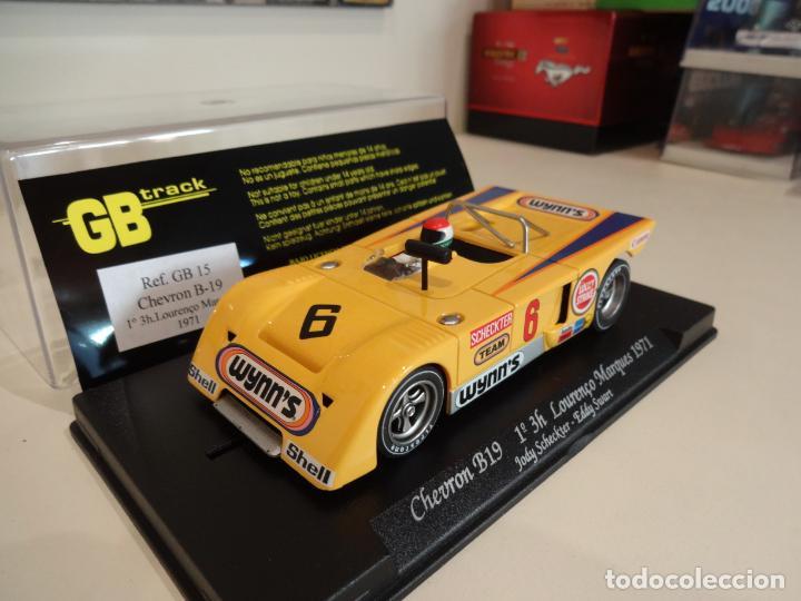 Slot Cars: FLY. Chevron B19. 1º 3H Lourenço Marques 1971. Scheckter - Swart. Ref. GB-15 - Foto 3 - 262455985