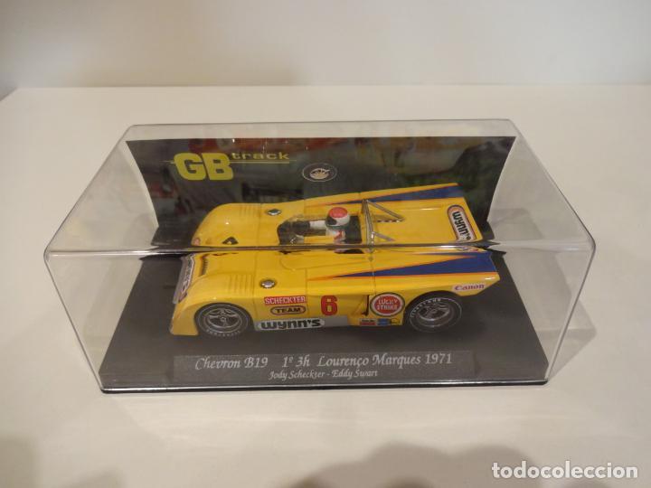 Slot Cars: FLY. Chevron B19. 1º 3H Lourenço Marques 1971. Scheckter - Swart. Ref. GB-15 - Foto 4 - 262455985