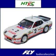 Slot Cars: FLY PORSCHE 924 CARRERA GT #2 24 HS LE MANS 1980 ROUSE / DRON A2025. Lote 261556140