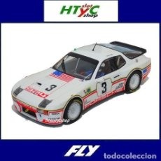 Slot Cars: FLY PORSCHE 924 CARRERA GT #3 24 HS LE MANS 1980 BELL / HOLBERT A2026. Lote 261557185