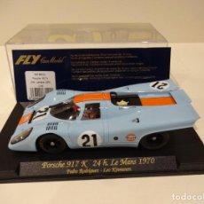 Slot Cars: FLY. PORSCHE 917K. 24H LE MANS 1970. GULF. REF. C-85. Lote 262665435