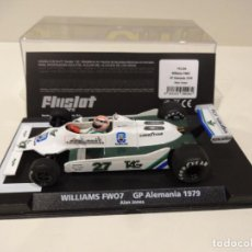 Slot Cars: FLY SLOT. WILLIAMS FW07. GP ALEMANIA 1979. ALAN JONES. REF. F01104. Lote 262834510