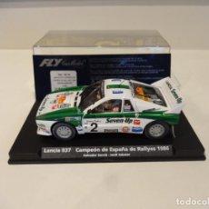 Slot Cars: FLY. LANCIA 037. CAMPEÓN DE ESPAÑA DE RALLYES 1986. SERVIÀ - SABATER. REF. A-991 - 88148. Lote 262988095