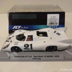 Slot Cars: FLY. PORSCHE 917 LH. TEST ABRIL LE MANS 1970. LINGE. REF. 88372. Lote 262990195