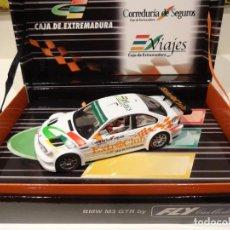 Slot Cars: FLY. BMW M3 GTR. ED. ESP. CAJA EXTREMADURA. REF. E-291 - 96049. Lote 263192700