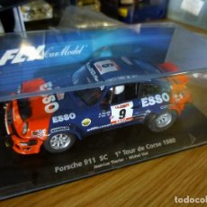 Slot Cars: ANTIGUO COCHE DE SCALEXTRIC SLOT FLY - RALLY - PORSCHE 911 SC. Lote 263213105