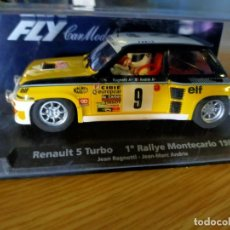 Slot Cars: ANTIGUO COCHE RALLY SLOT FLY CAR MODEL RENAULT 5 TURBO 2 - MONTECARLO 1981. Lote 263214615