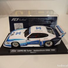 Slot Cars: FLY. FORD CAPRI RS TURBO. HOCHENHEIM DRM 1980. REF. A-140. Lote 263552840