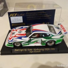 Slot Cars: FLY. FORD CAPRI RS TURBO. NURBURGRING DRM 1981. REF. A-143. Lote 263554160