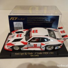 Slot Cars: FLY. FORD CAPRI RS TURBO. 1º ZOLDER DRM 1981. LUDWIG. REF. A-146. Lote 263554570