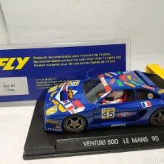 Slot Cars: FLY VENTURI 500 LE MANS 95. Lote 264254888
