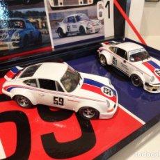 Slot Cars: FLY. TEAM PORSCHE 911-934 BRUMOS. REF. TEAM 13 - 96081. Lote 264505384