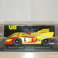Slot Cars: SCALEXTRIC FLY GB TRACK COCHE PORSCHE 917 SPYDER 5º NURBURGRING 1972 NEUHAUS 1:32 SLOT CAR ALFREEDOM. Lote 266384193