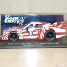 Slot Cars: SCALEXTRIC FLY GB TRACK LANCIA BETA MONTECARLO 1º BRANDS HATCH 1980 PATRESE 1:32 SLOT CAR ALFREEDOM. Lote 266385393