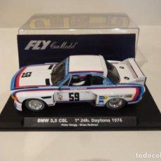 Slot Cars: FLY. BMW 3.5 CSL. 1º 24H DAYTONA 1976. REF. A-681 - 88081. Lote 266411223