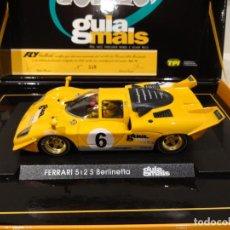 Slot Cars: FLY. FERRARI 512 S BERLINETTA. GUIAS MAIS. REF. T6.. Lote 266588318