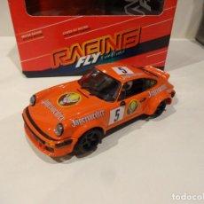 Slot Cars: FLY. PORSCHE 911 RACING JAGERMEIFTER. REF. 88340. Lote 267125354