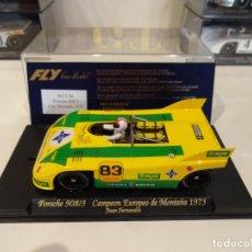 Slot Cars: FLY. PORSCHE 908/3. ESCUDERIA TERGAL. CAMPEONATO EUROPEO DE MONTAÑA 1973. REF. C-66. Lote 267263979
