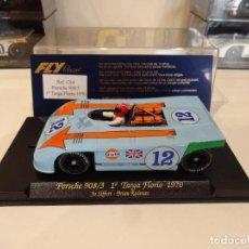 Slot Cars: FLY. PORSCHE 908/3. GULF. 1º TARGA FLORIO 1970. REF. C-64. Lote 267264739