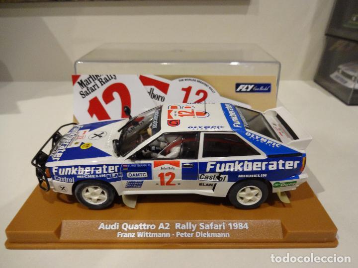 FLY. AUDI QUATTRO SAFARI RALLY 1984. WITTMANN - DIEKMANN. REF. E-1901 (Juguetes - Slot Cars - Fly)